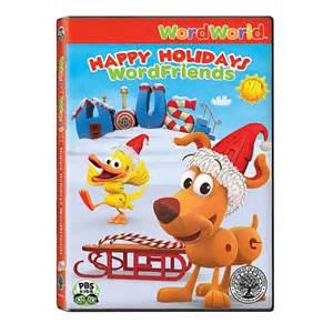 Word World: Happy Holidays Wordfriends Dvd