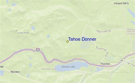 tahoe donner ski resort guide location map tahoe donner