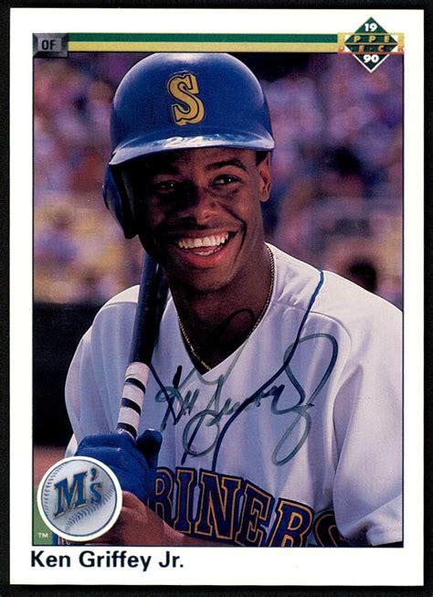 1990 Deck Ken Griffey Jr Value by Sports Memorabilia Auction Pristine Auction