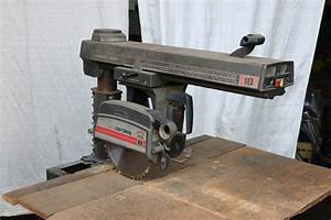 Craftsman Radial Arm Saw  Stock  68320