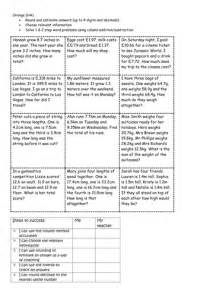 addition subtraction word problems with estimation and rounding by annarose93 teaching