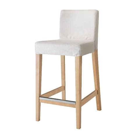chaises de bar ikea henriksdal bar stool with backrest 63 cm ikea