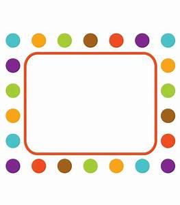 Polka Dot Border Template - ClipArt Best