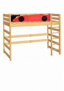 Hochbett Holz Kinder : kinder hochbett formel 1 mit rollrost holz massiv ~ Michelbontemps.com Haus und Dekorationen