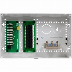 Icc 9 U0026quot  Plastic Combo Voice  Data  Video Structured Wiring