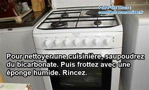 Nettoyer Du Cuir Avec Du Lait : comment nettoyer sa cuisini re avec du bicarbonate ~ Melissatoandfro.com Idées de Décoration