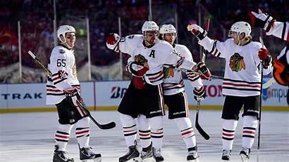 Hockey Nhl Blackhawks Chicago Wallpapers Background Ice