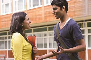 Everyday conversations: Talking after class | ShareAmerica