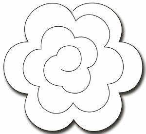 rolled rose google zoeken cameo diy39s uitleg With rolled paper roses template