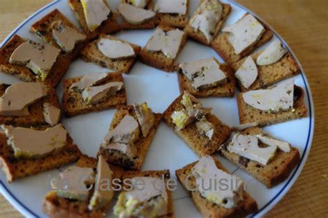 canapé au foie gras foie gras and gingerbread canapés la classe de cuisine