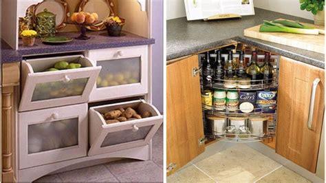 30 Small Kitchen Storage Ideas Diy  Youtube