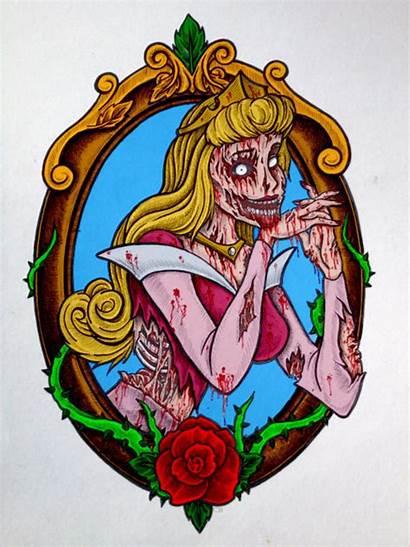 Disney Zombie Princess Twisted Tattoo Which Princesses