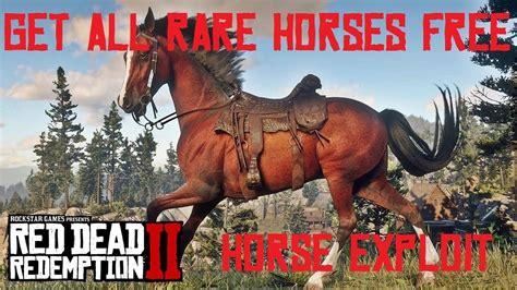 rdr2 horse breeds rare dead redemption easy