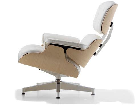 white ash eames 174 lounge chair without ottoman hivemodern
