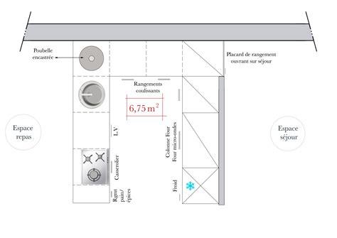 plan cuisine design exemple plan de cuisine quelques exemples de plan de