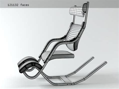 Gravity Balans Chair Plans by Gravity Balans 3d Model Varier Furniture