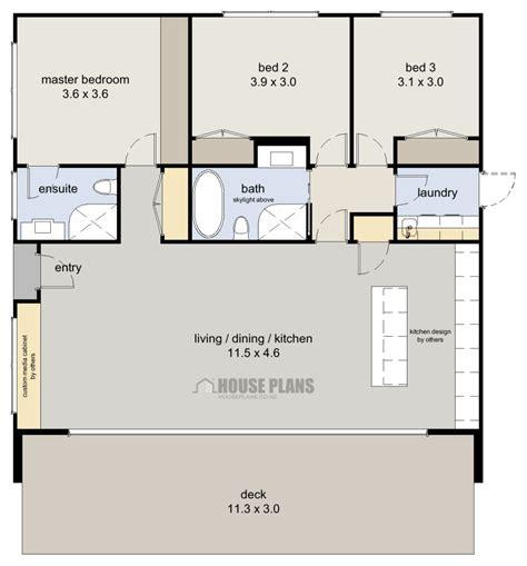 2 Bedroom House New Zealand by Zen 3 Bedroom House Plans New Zealand Ltd