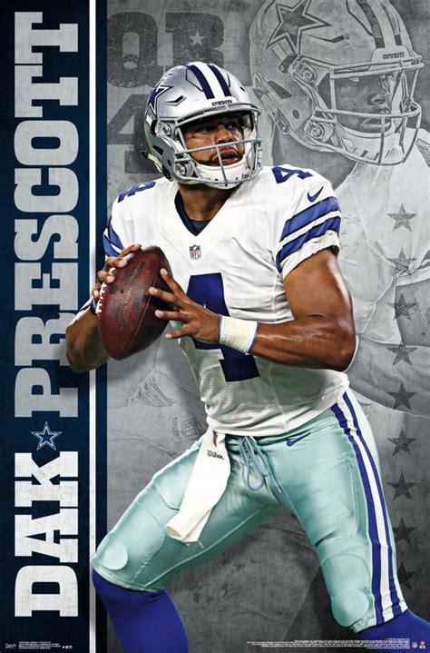 dallas cowboys dak prescott poster  poster clip