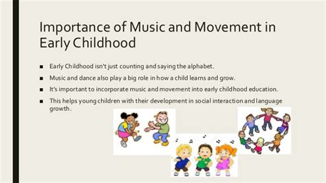 Movement for form and expression. Importance of music & movement in education of young children