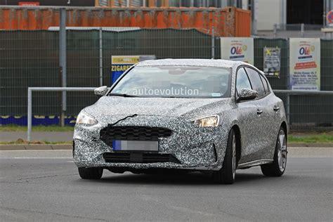 Spyshots 2020 Ford Focus St Hits Nurburgring, 8speed