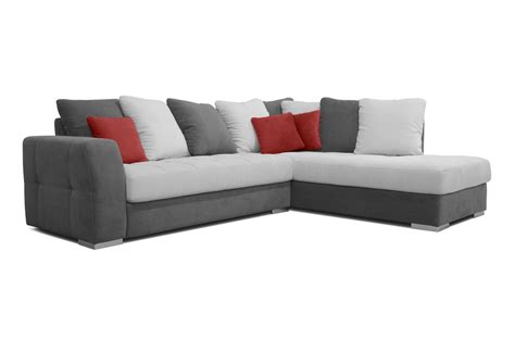 jeté canapé d angle acheter votre canapé d 39 angle coussins jetés gris blanc et