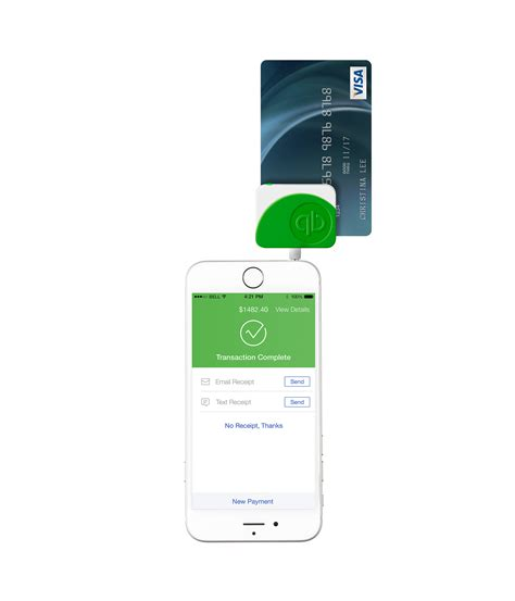 The quickbooks card reader for mobile and contactless payments lets you seamlessly get paid on the go. Marc Fernandez - QuickBooks Card Reader