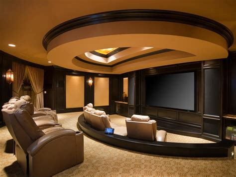 Interior Design For Home Theatre by Amazing Home Theater Designs Hgtv