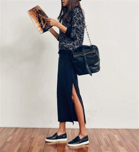 Springu0026#39;s Shoe Trend The Slip-on Sneaker and How To Wear it | The Style Spy