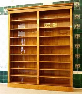 Bücherregal 2 Teilig : b cherregal kirsche im biedermeierstil ausstellungsst ck massivholz 250x200x35cm ebay ~ Indierocktalk.com Haus und Dekorationen