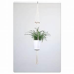 suspension pour plante en macrame bymadjo ellyne deco With salle de bain design avec noeuds décoration pour paquets cadeaux