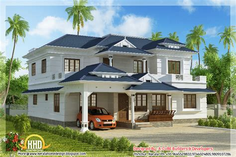 home design gallery sunnyvale 4 bhk kerala style house elevation 3074 sq ft indian home decor