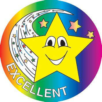 Dominie  Excellent Star Stickers