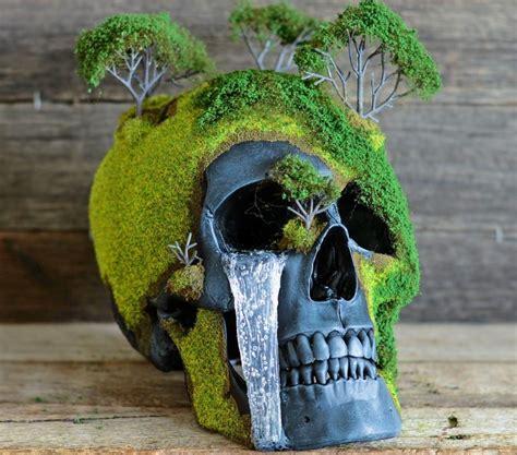 Bonsai Skulls Are Faux Human Made Into Nature Esque