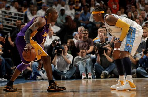 carmelo anthony  los angeles lakers  denver nuggets