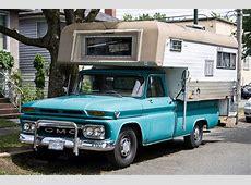 Vintage GMC Truck with Cab Over Camper – Truck Camper HQ