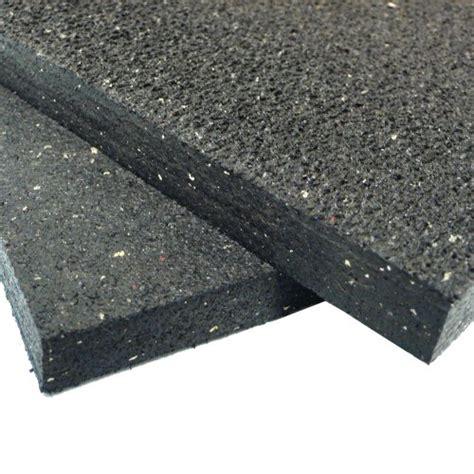 rubber cal heavy duty appliance mat   ft wide  ft long black rubber floor protection