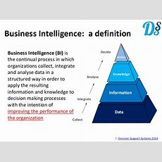 Building Blocks Of Business Intelligence