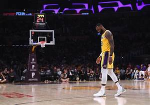 Rough Start For LeBron James As Los Angeles Lakers Fall To 0 3