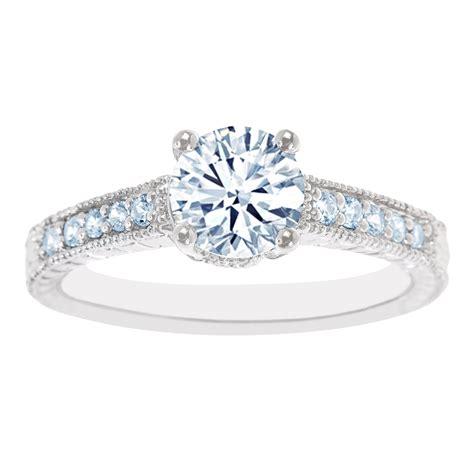 new york city diamond district 14k white gold certified