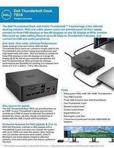 How To Connect Two Monitors Dell Thunderbolt Docking
