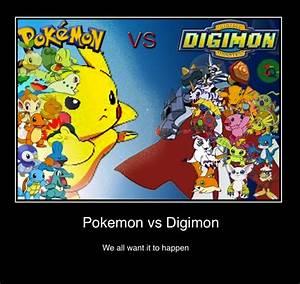 Pokemon vs Digi... Omnimon Quotes