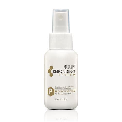 rebonding system protection spray 70 ml makarizo store