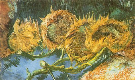 Artwork Vincent Van Gogh Sunflowers Painting Classic