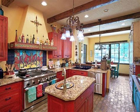 mexican style kitchen design rustic mexican kitchen design ideas mexican style home 7483