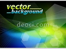 Vector blue technology background design template EPS file