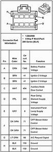 2001 Pontiac Sunfire Radio Wiring Diagram