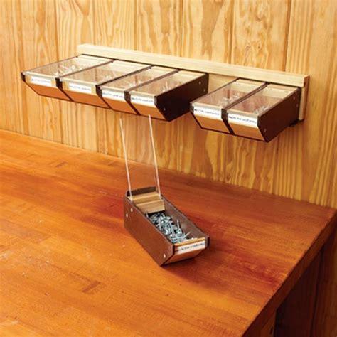 hardware bins woodworking plan  wood