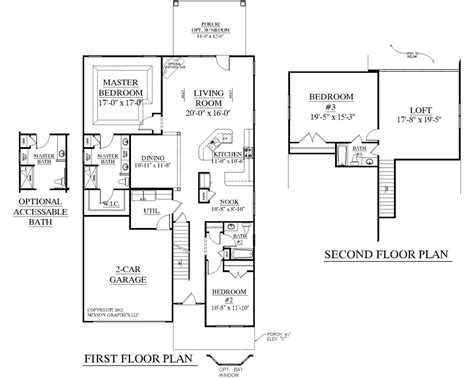 open floor house plans two apartments two home plans with open floor plan