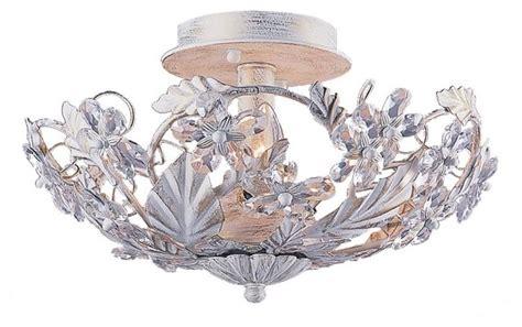 shabby chic ceiling lights crystorama 3 light antique white bowl shabby chic style flush mount ceiling lighting