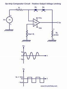 Voltage Limiter Circuit Using Op